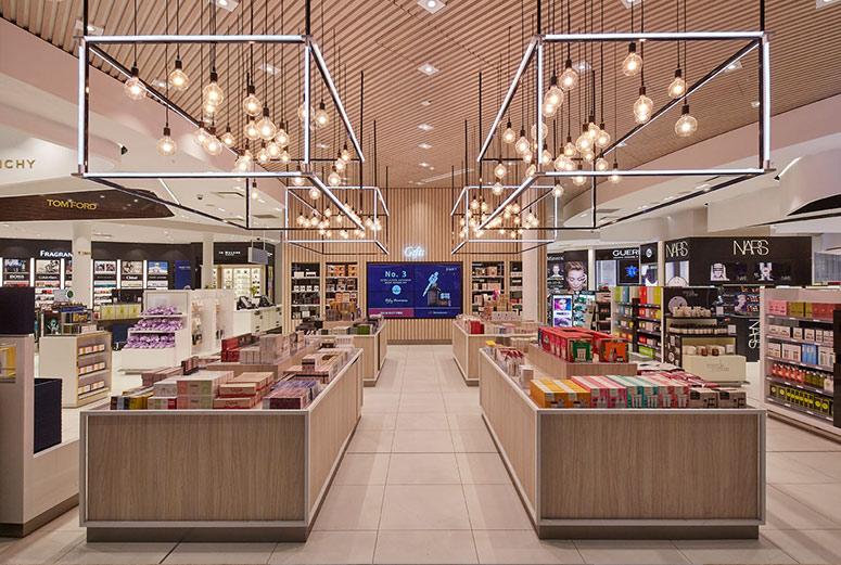 Heinemann Duty Free refurbishment - Sydney Airport